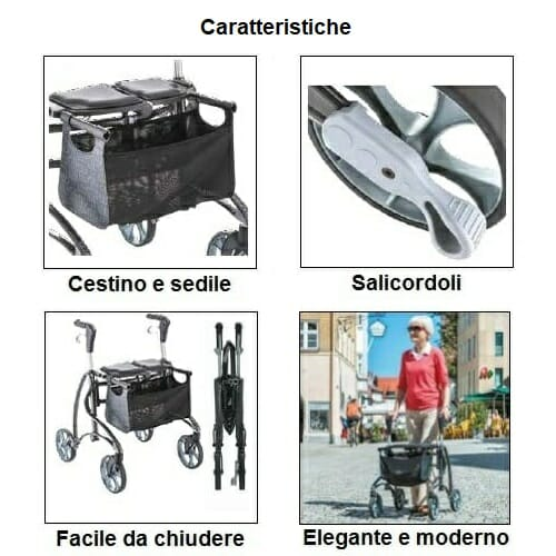 Deambulatore Dolomite Jazz 2