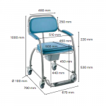 Sedia a Rotelle Omega H750 New INVACARE_Z