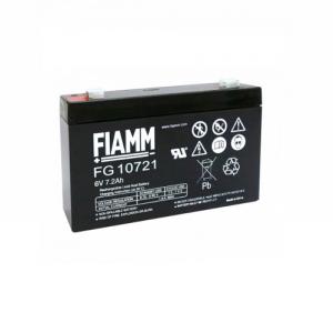 03009020 Batteria Fiamm 6 V 7,2 Ah