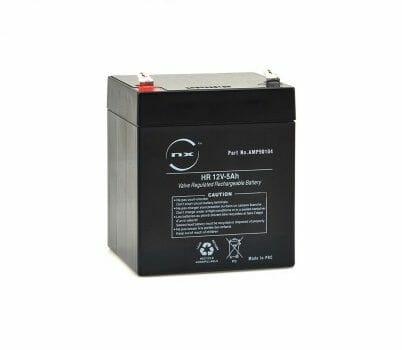 Batteria 03017010 Batteria Mk 12 V 5 Ah