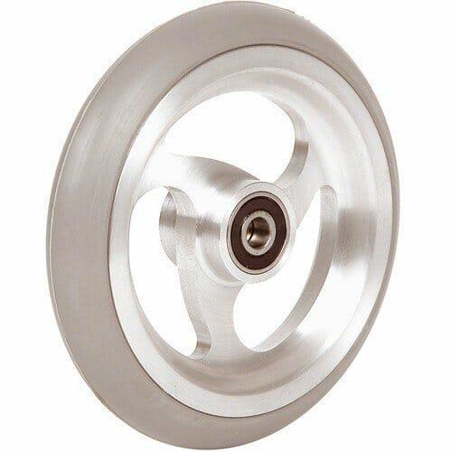 06033129 Ruota 4 Cerchio In Alluminio Gomma Grigia