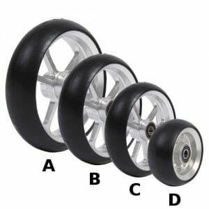 06033168-Ruota-3-cerchio-in-alluminio-gomma-nera
