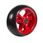 06033224 Ruota 5′ gomma nera cerchio rosso_x