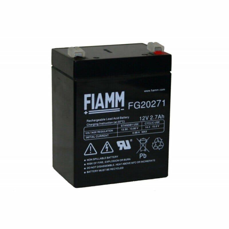 03009012 Batteria Fiamm 12 V 27 Ah