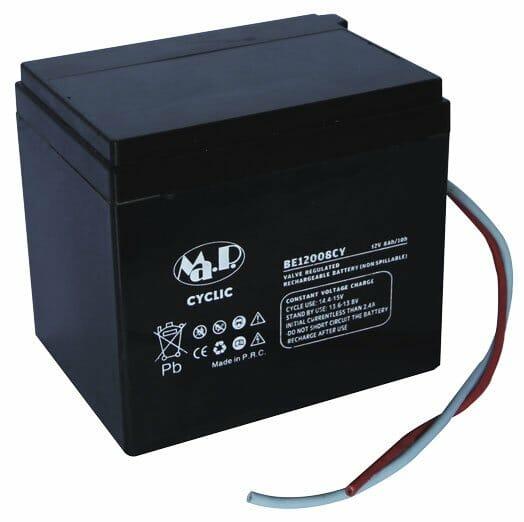 03009022 Batteria 12 V 8 Ah Con Cavi