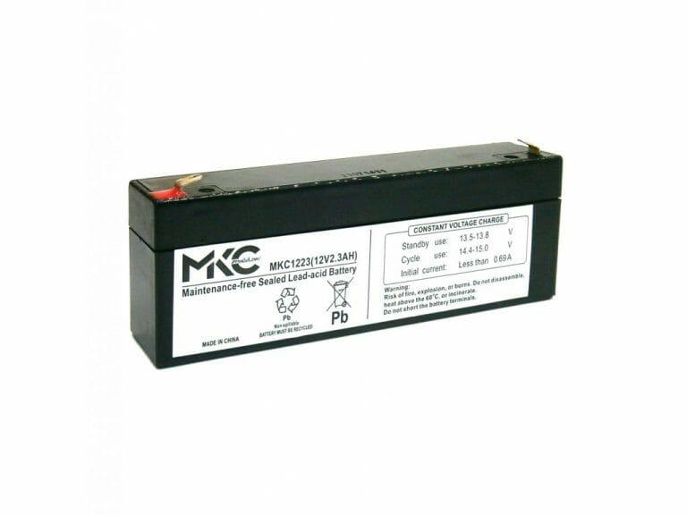 03017009 Batteria MK 12 V 2,3 Ah 1