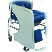 980067 Vassoio con incavo ribaltabile Invacare E100-E200-E400-E500-10-154 1