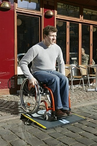 Rampa per disabili Lite 15