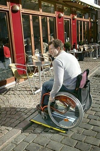 Rampa per disabili Lite Allmobility