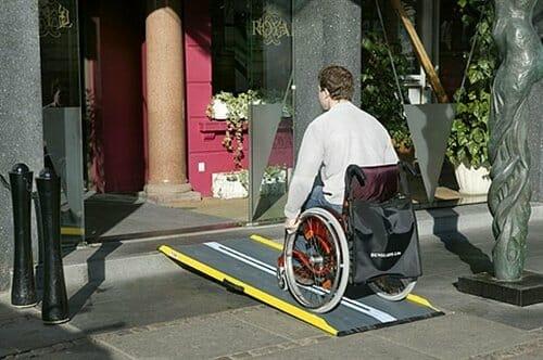 Rampa per disabili Lite 4