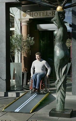 Rampa per disabili Lite