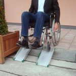 Rampa per disabili fissa 6