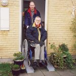 Rampa per disabili fissa 2
