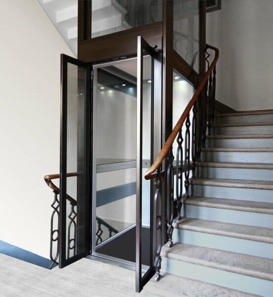 Ascensore per disabili esterno savona ab medical for Piani di ascensore domestico