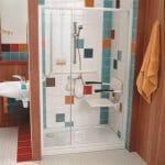 Seggiolino per doccia a parete Futura R8802-60 2