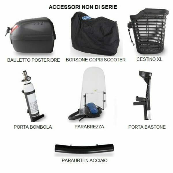 Scooter Elettrico COMET ULTRA Invacare