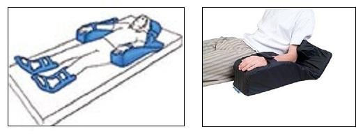 Posizionatore per avambraccio da letto Wimed