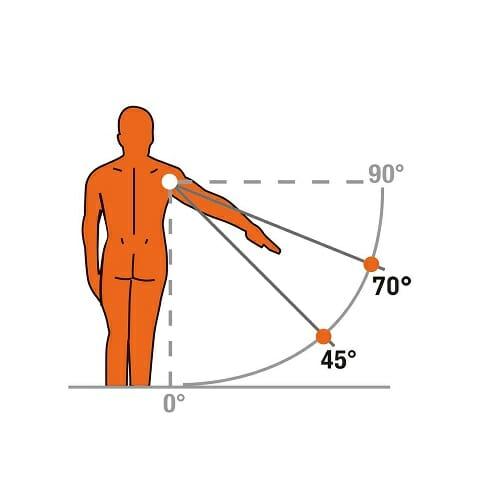 Tutore a cuscino per abduzione spalla SOFTAB 45°-70°