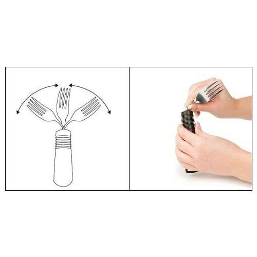 Forchetta orientabile confort grip Allmobility