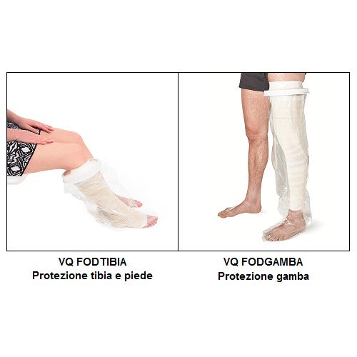 Protezioni gamba per bagno e doccia Allmobility
