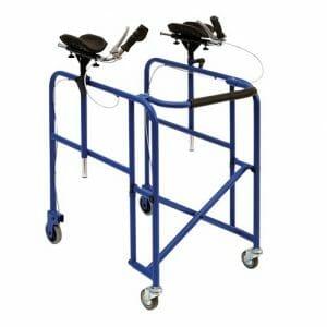 Rollator con appoggi anti brachiali Wimed