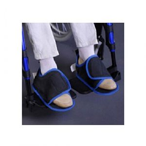 Pantofole antiscivolo per carrozzina disabili