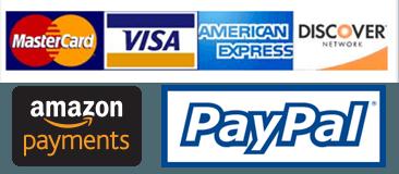 Logos de paiement acceptés