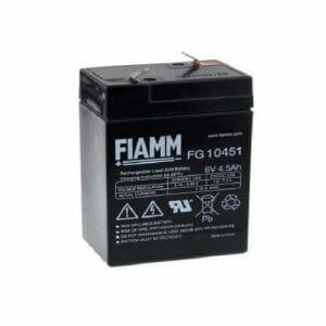 03009005 Batteria Zenith 6V 5 Ah