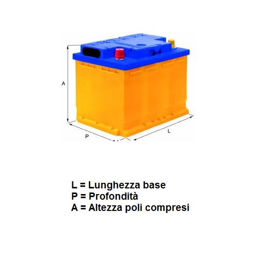 03009027 Batteria Fiamm 6 V 4,5 Ah